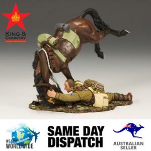 King & Country AL024 Collapsing Horseman MIB Retired