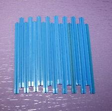 Lego 150 151 Eisenbahn Pat Pend 17 gerade Schienen 60er Jahre blau 23