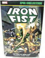 Iron Fist Epic Collection Vol 1 The Fury Of Iron Fist Marvel Comics New TPB