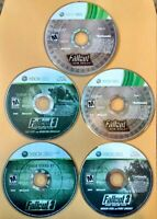 Fallout 3 With Add-On Packs & Fallout: New Vegas Ultimate Edition Xbox 360 Lot