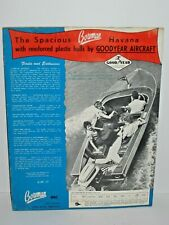 1955 Bowman Boat Catalog Manual Brochure Good Year With Price List
