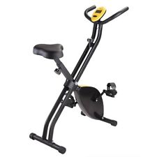 AAcenter Foldable Upright Exercise Bike