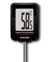Heston Blumenthal Digital Kitchen Thermometer for Meat, Baking, BBQ by Salter
