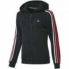 adidas Regular Size Zip Neck Hoodies & Sweats for Women