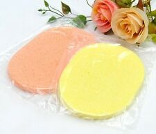 Natural Plant Facial Seaweed Sponge Cleansing 2pcs NEW