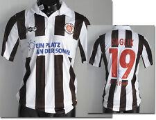 FC St. Pauli MATCH WORN SHIRT 12.8.2011 giocatore MAGLIA LEGA FEDERALE CALCIO DFB