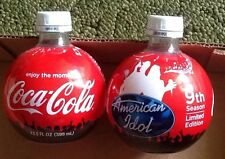 CocaCola 9th Season American Idol Bottles