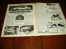 BUICK RIVIERA TWIN TURBO 450 H.P.  ***ORIGINAL  1985 ARTICLE***
