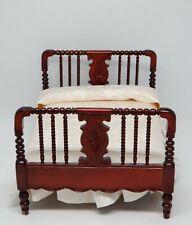 Vintage Town Square Miniatures Jenny Lind Bed Dollhouse Miniature 1:12