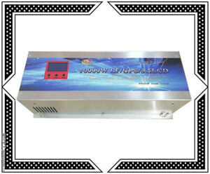 "40000W/10000W LF Pure Sine Wave Power Inverter 24VDC/230VAC 3.5""LCD/UPS/Charger"