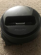 Black Phillips Ipod Docking Station Round with lock
