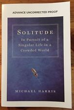 Solitude by Michael Harris (paperback ARC)