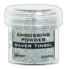Ranger Ink Embossing Powder Release 2018 Silver Tinsel