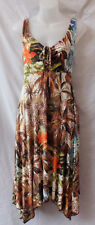Capture Size 12 M NEW Midi Dress Viscose Casual Party Summer Beach Holiday