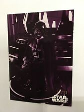 2019 Empire Strikes Back Black & White - Purple parallel base card #51 (17/25)