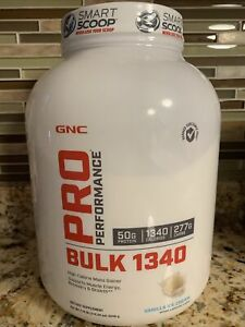 GNC Pro Performance® Bulk 1340 - vanilla ice cream, 7 lb(s)