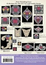 Anita's Lace Anita Goodesign Embroidery Design cd Cd Only