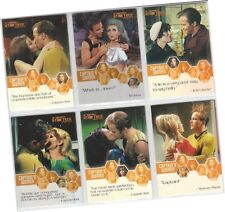 "Star Trek Remastered TOS The Original Series 9 Card /""Creatures/"" Set C1-C9"