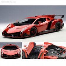 1/18 AUTOart LAMBORGHINI VENENO (2013) rosso J/metallic +1/18 Vitrine kostenlos