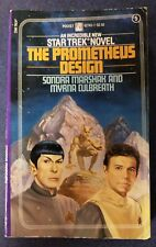 Star Trek #5 TYPO The Prometheus Design 1982 Pocket Books Series