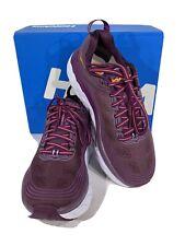 Hoka One One Bondi 6 Women's Size 7 Purple Athletic Running Training Shoes X4-96