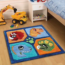 Kiddy Play Dino Flair Rugs Dinosaur Childrens Kids 80x100 Floor Rug Mat