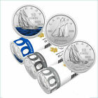 100th Anniversary of Bluenose. Set of 3 dimes Coloured and Non 2021, PRE-ORDER