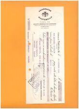 """CHATEAU de MAREUIL-sur-AY (51) CHAMPAGNE """"MONTEBELLO"""" Traite en 1960"""