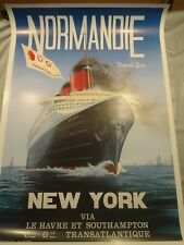 Maritime Normandie Large Posters