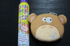 Kids Stuff Foaming Soap 225ml and Monkey Sponge - Without Box