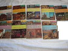 SET of 9 Let's Travel books ~ Holy Land ~ Congo ~ Mexico ~ Soviet Union