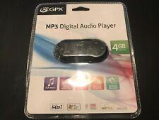 GPX MP3 Digital Audio Player MW353B  4GB