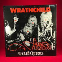 WRATHCHILD Trash Queens - 1985 UK vinyl LP EXCELLENT CONDITION