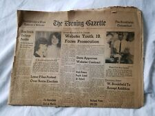 The Evening Gazette Worcester Mass March 18, 1965