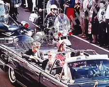 JOHN F KENNEDY JFK ASSASSINATION 8X10 COLOR PHOTO