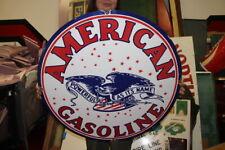 Large American Gasoline Gas Station 30