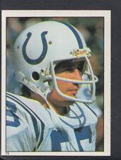 Topps 1981 American Football Sticker No 15 - Ed Simonini - Colts (T447)