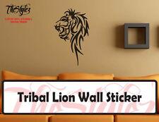 Tribal Lion Oversize Wall Vinyl Sticker