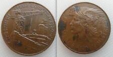 COLLEZIONISMO 1924 impero britannico mostra medaglia / token. spedizione / TIPO CRANE