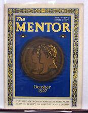Oct 1927 The Mentor Magazine-Napoleon's Women/Blonde Beautys History(L5998-ARRI)