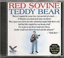 "RED SOVINE, CD ""TEDDY BEAR"" NEW SEALED"