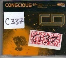 (CL186) Conscious EP, T-Cue Oio - CD