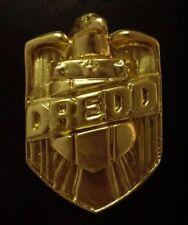 NEW! Judge Dredd Badge Stallone Movie Comic Prop Replica Gold