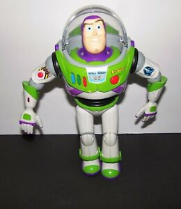 """Disney Store Toy Story Buzz Lightyear Talking Action Figure 12"""" doll"""