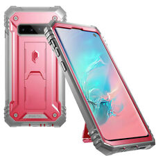For Samsung Galaxy S10 (2019) Case Poetic Full Cover with Screen Protector Pink
