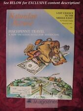 Saturday Review March 22 1975 PINCHPENNY TRAVEL ILA STANGER DENA KAYE