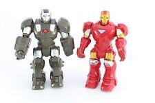 MARVEL Legends Armor addebito macchina da guerra e Iron Man Elettronico
