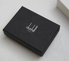 DUNHILL New in box LQ4700A D-eight leather business card calfskin