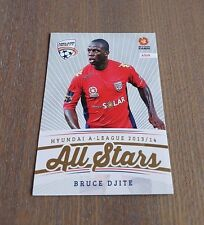 2013-14 A LEAGUE SOCCER TRADING CARDS ALL STARS BRUCE DJITE CARD AS08