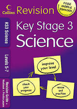 COLLINS REVISION KS3 SCIENCE LEVELS 5-7 REVISION GUIDE & WORKBOOK & PRACTICE PPR